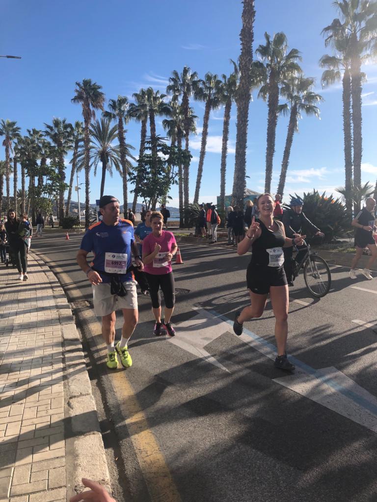 Málaga marathon