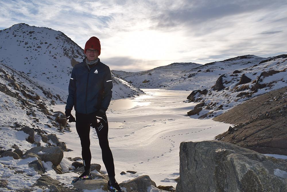 Erwin van Zandvliet Polar Circle Marathon 1