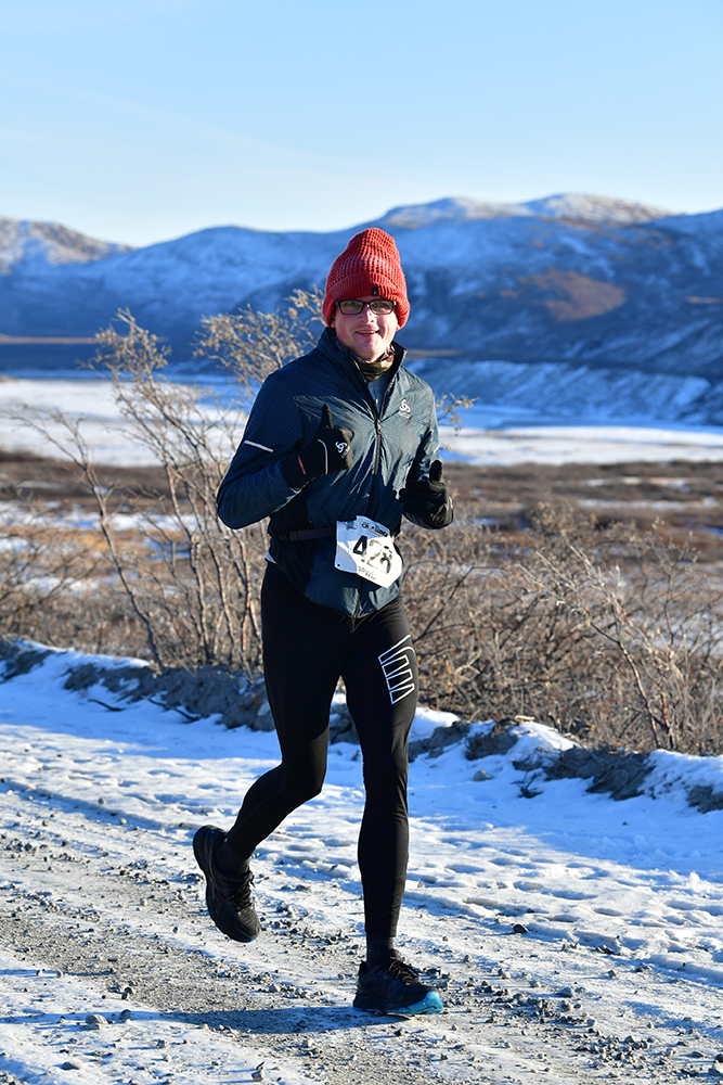 Erwin van Zandvliet Polar Circle Marathon 5