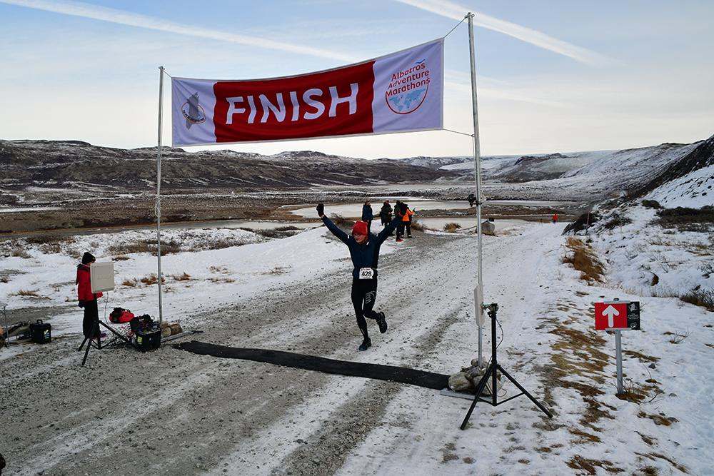 Erwin van Zandvliet Polar Circle Marathon 7