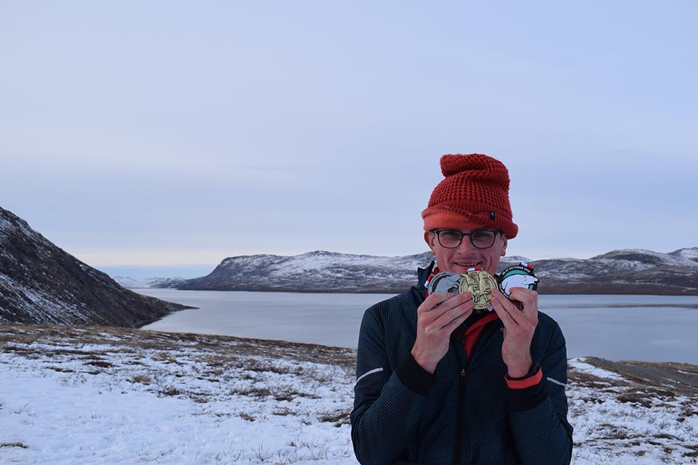 Erwin van Zandvliet Polar Circle Marathon 8
