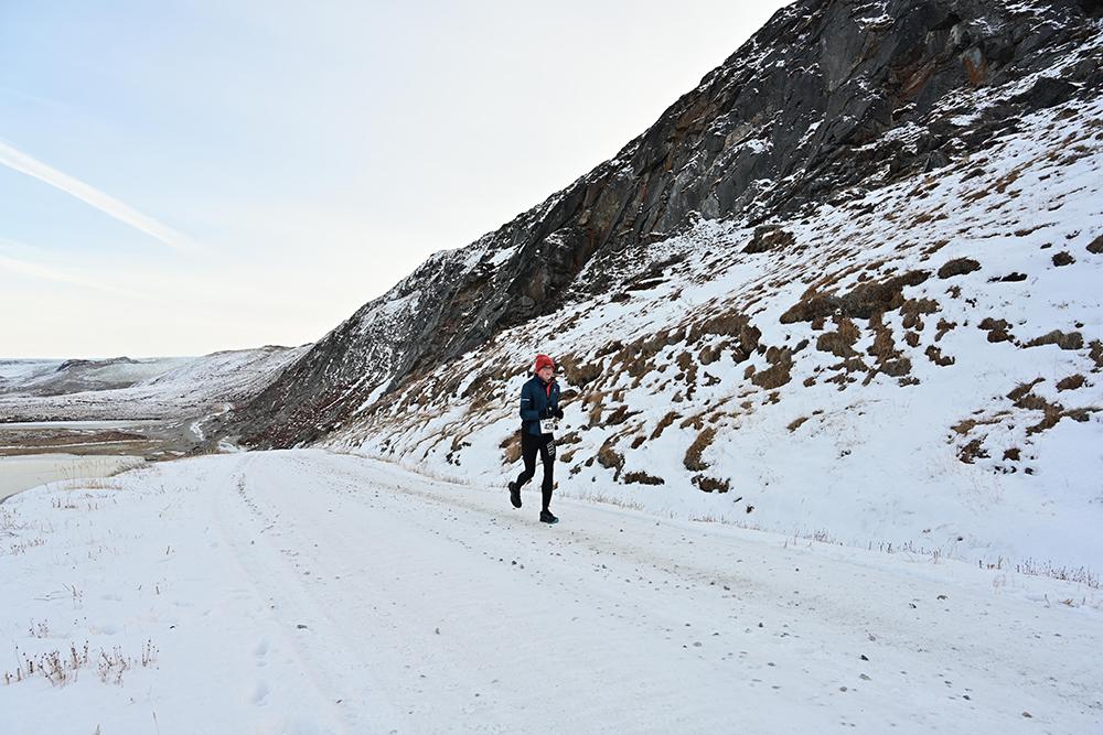 Erwin van Zandvliet Polar Circle Marathon 9