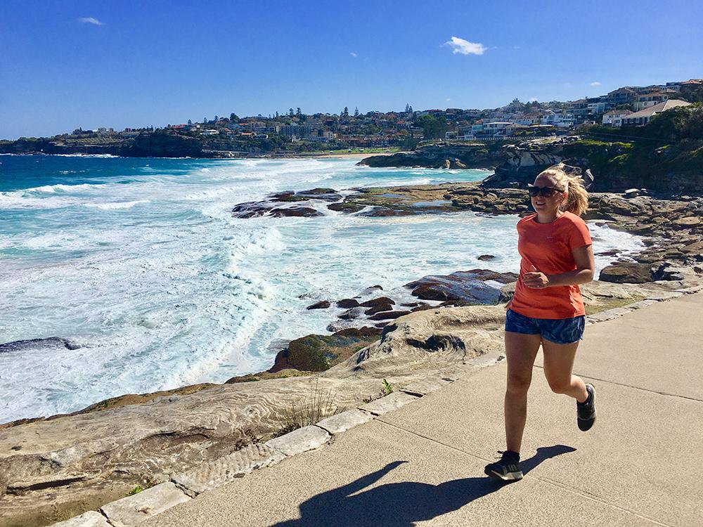 Hardlopen in Australie - Bondi Beach