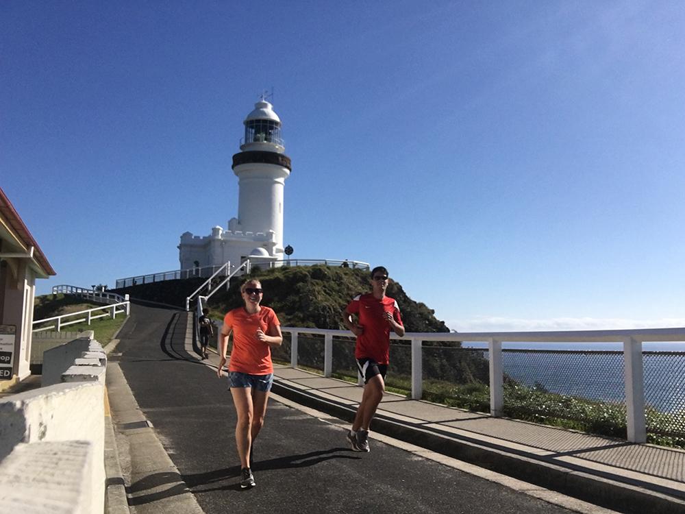 Hardlopen in Australie - Byron Bay