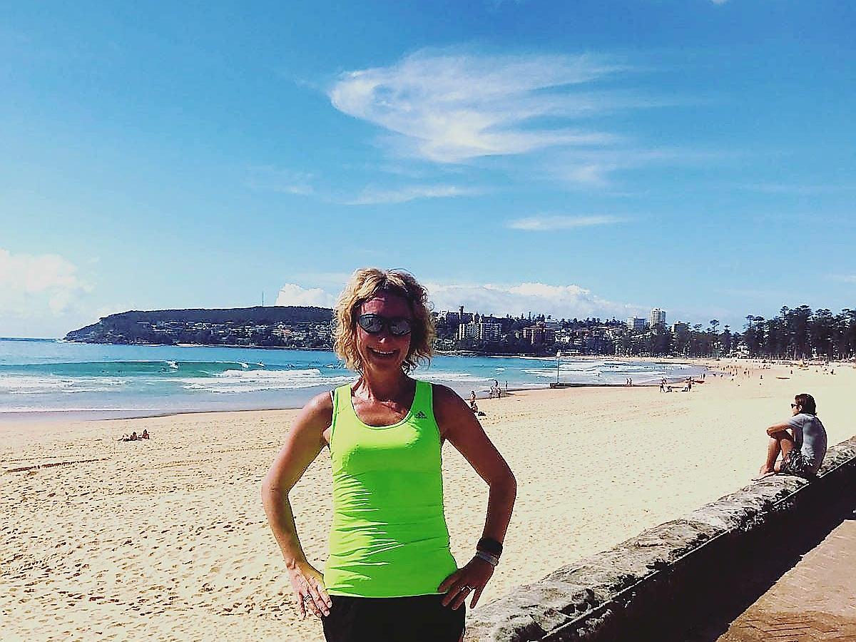 Hardlopen in Australie - Manly Beach