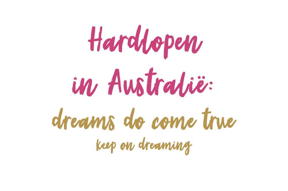 Hardlopen in Australië - verhalen