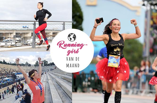 Hardloopverhalen van runninggirls