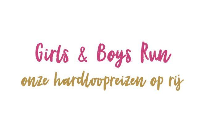 Girls & Boys Run hardloopreizen
