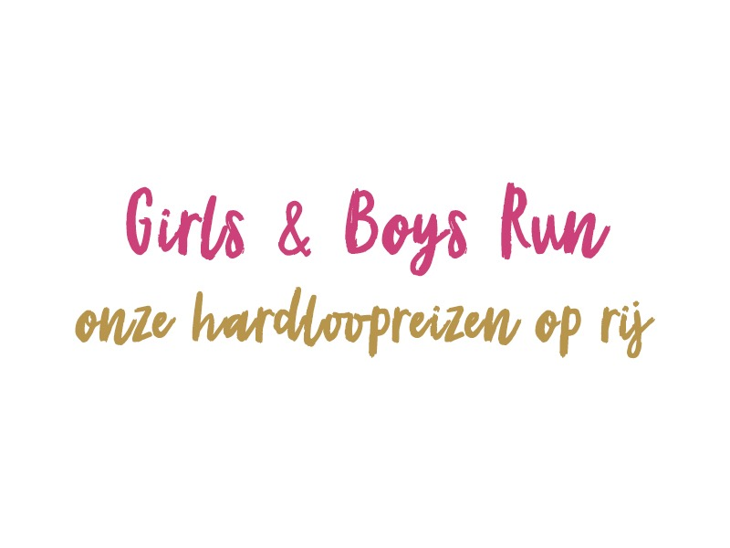 Girls & Boys Run hardloopreizen